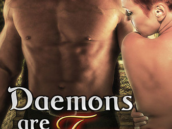 Cover Out for Daemons Are Forever