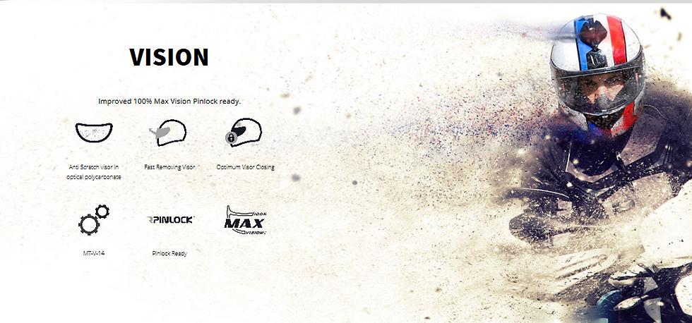 Casqu Rapide MT HELMETS, Visière haut de gamme max vision 100%, pinlock ready, fermeture clipsé, anti-rayure.
