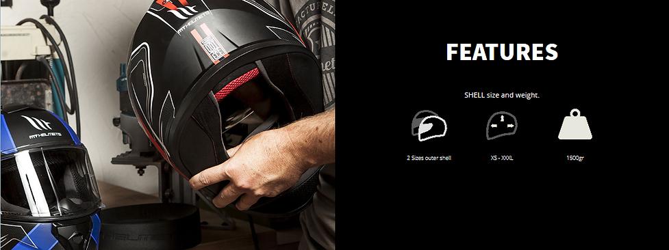Casque Moto MT HELMETS THUNDER 3 SV. Parfait compromis entre prix et efficacité, vous propose 2 tailles de calottes, tailles XS-XXXL, poids : 1500 grammes