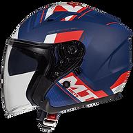 Casque jet pour moto et scooter MT HELMETS AVENUE SV. Marque de casque epagnol M HELMETS distribué en Suisse par MAGEF DIFFUSION
