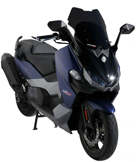 ERMAX Dark Black (opaque) Sport Windshield for MAXSYM 500TL