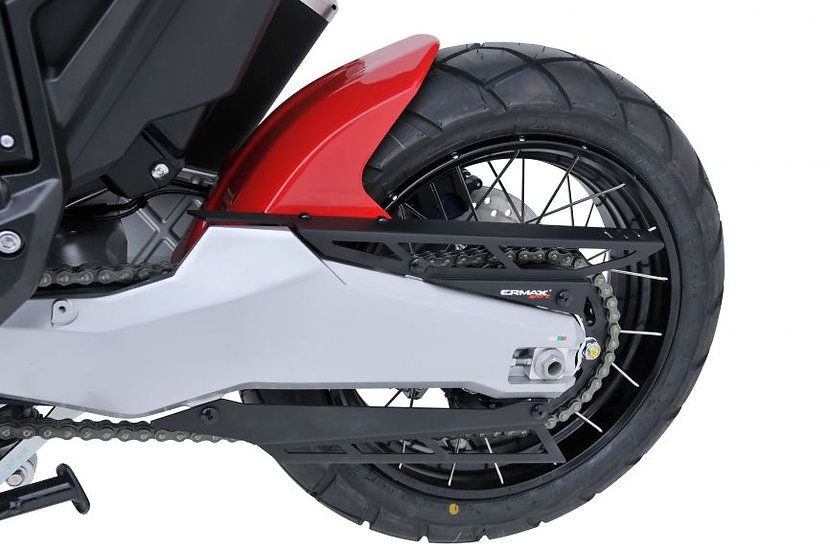 Ermax rear mudguard for XADV 2021 + anodized aluminum chain guard