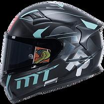 Casques Motos Intégrale/intégraux MT HELMETS haut de gamme préparé pour la course sur circuit. MT HELMETS est une marque de casques espagnol distribué en Suisse par MAGEF DIFFUSION