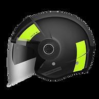 Casque jet pour moto et scooter MT HELMETS VIALE SV. Marque de casque epagnol M HELMETS distribué en Suisse par MAGEF DIFFUSION
