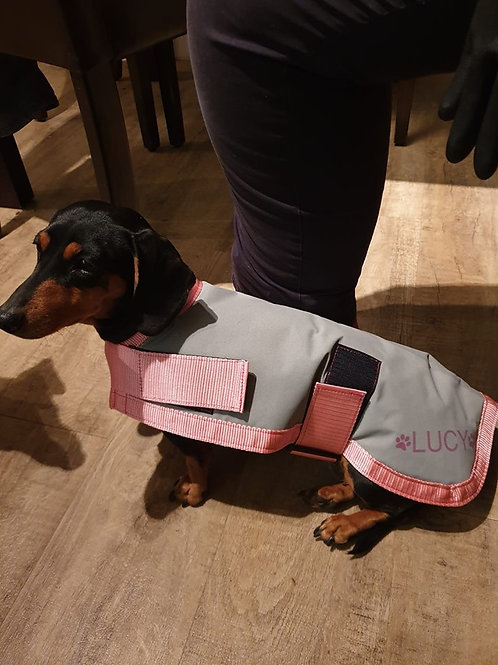 Waterproof Canvas Coat (Small - up to 49cm)