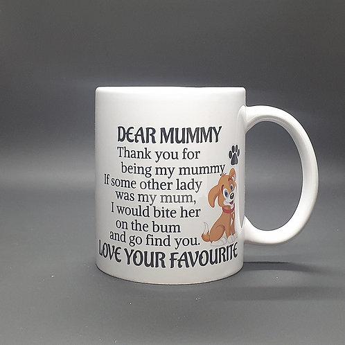 Dear Mummy...