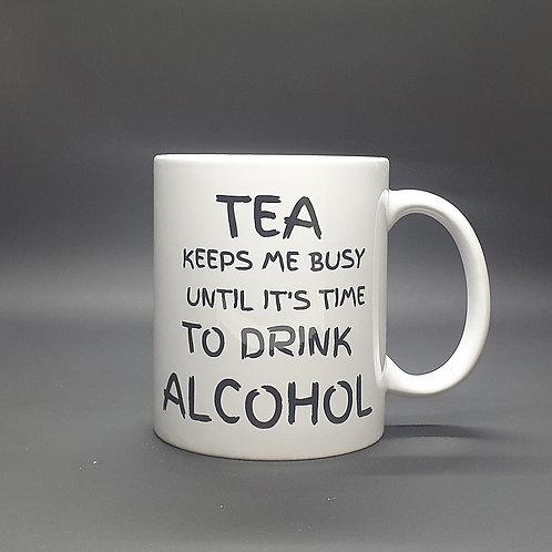 Tea Keeps Me Busy...