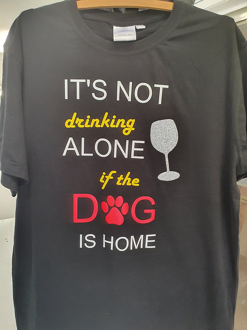 T-Shirt - Drinking Alone