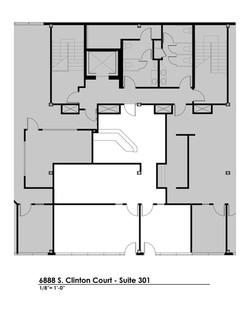 Suite 301 - Floorplan