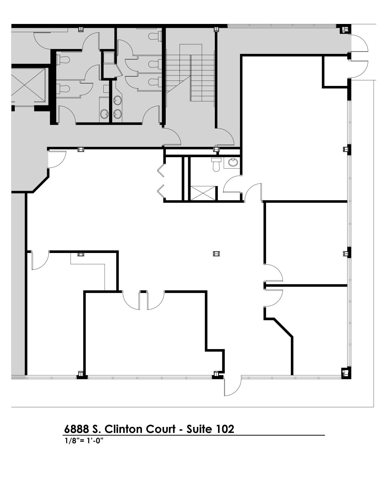 Suite 102 - Floorplan