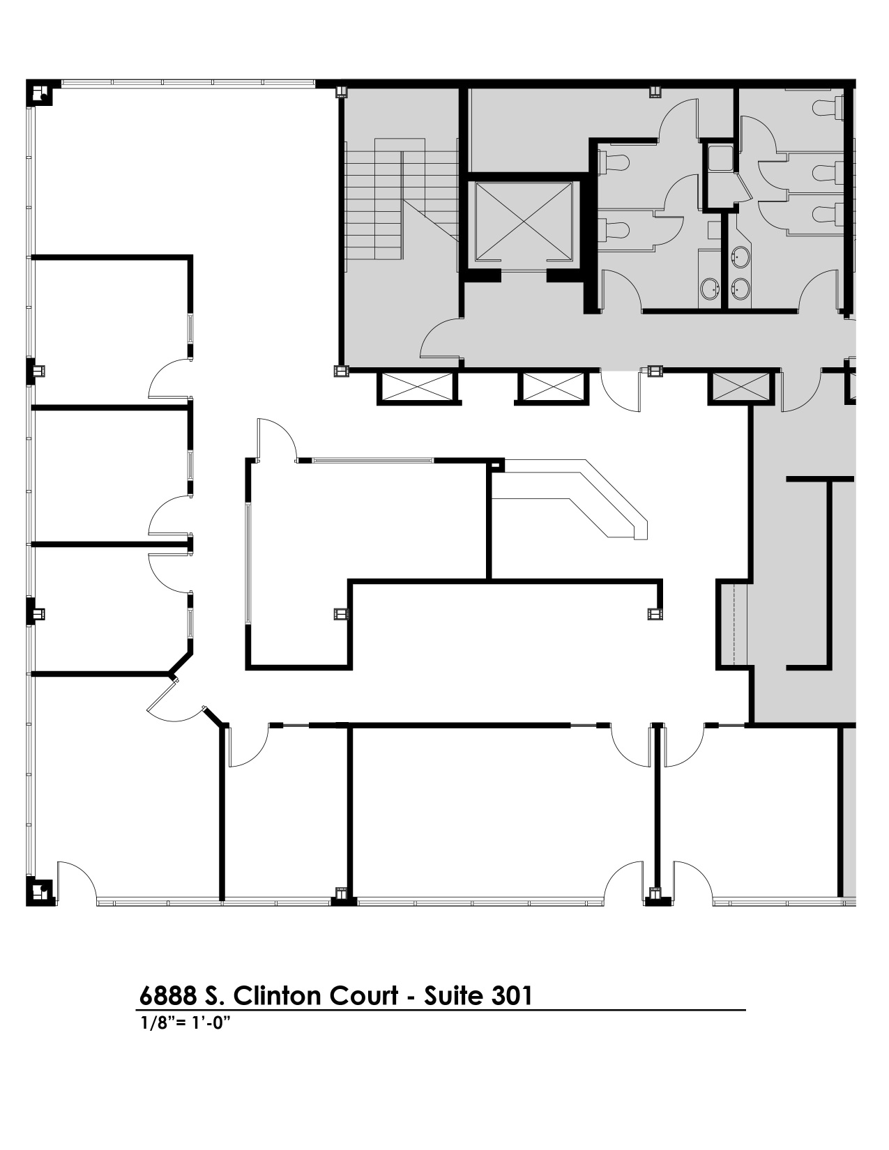 Suite 301 Floorplan
