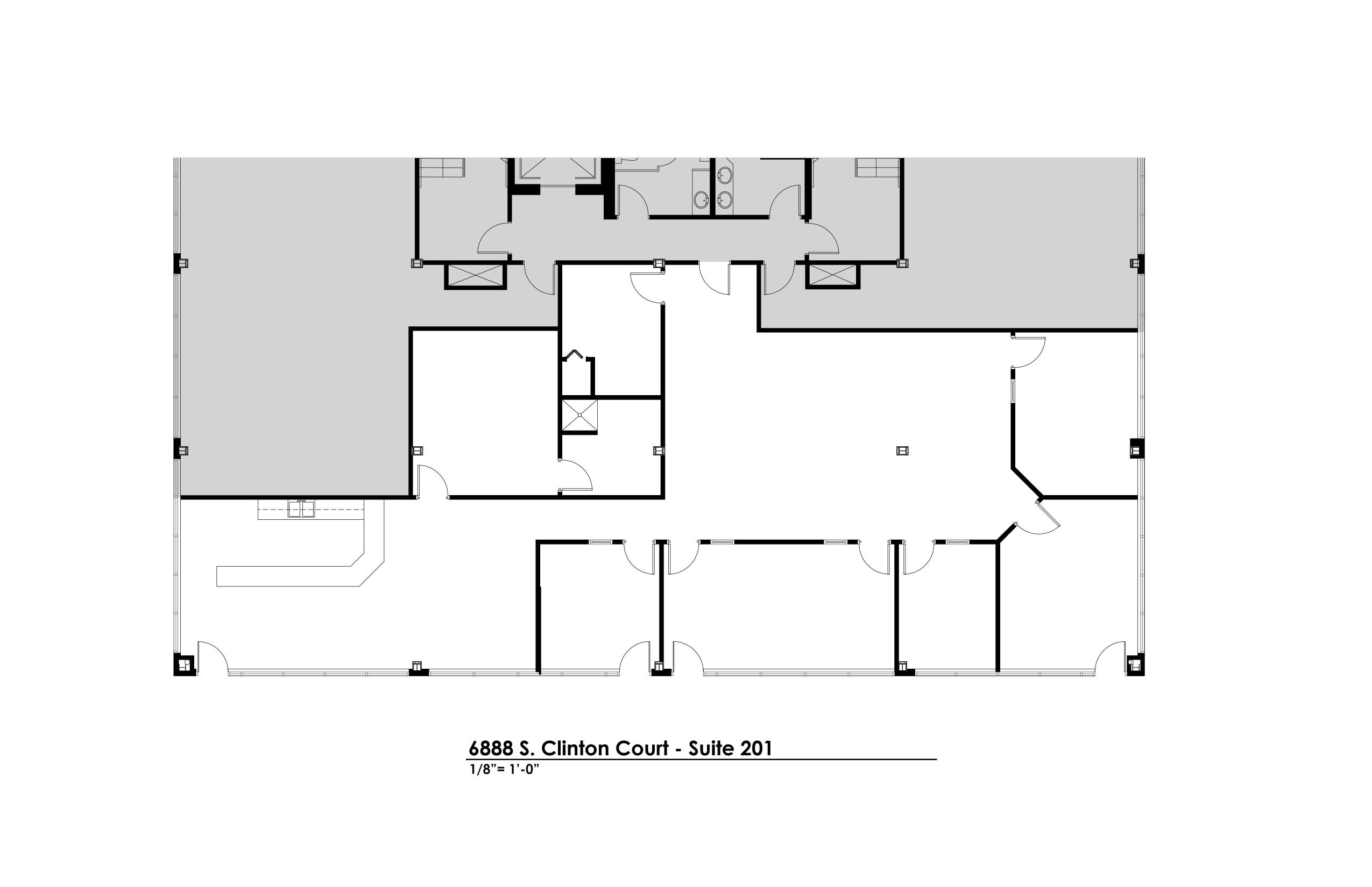 Suite 201 - Floorplan