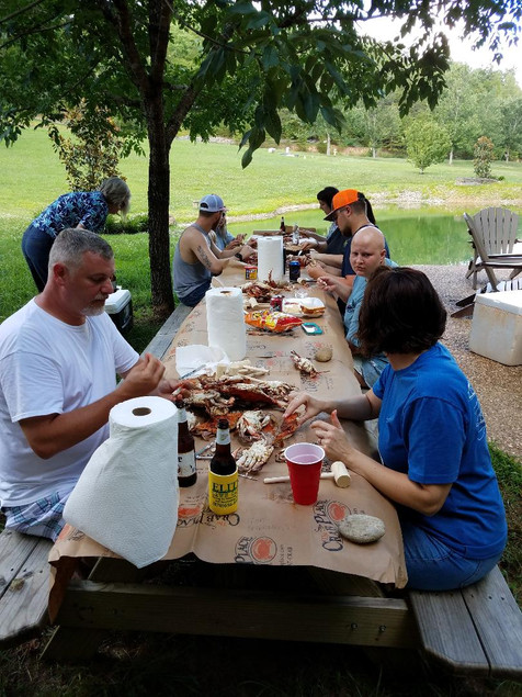 Sevierville, Tennessee Crab Feast
