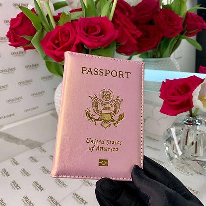 Passport Cover (Rose Gold)