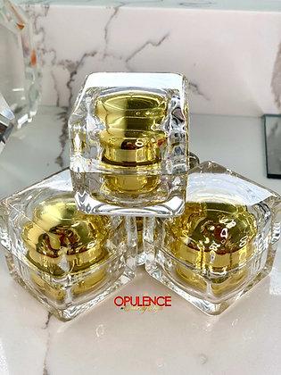 Empty Travel Cosmetic Jar (Gold)