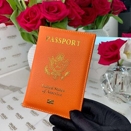 Passport Cover (Orange)