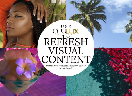 Refresh Visual Content To Revive Your Brand