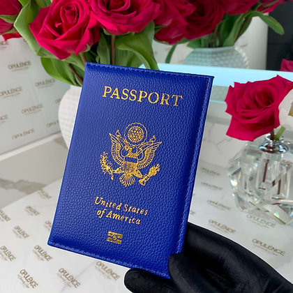 Passport Cover (Blue)