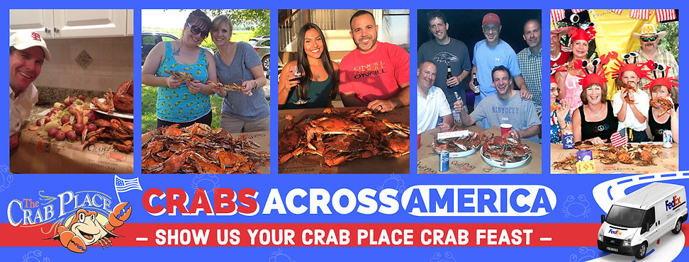 The Crab Place feast images Crabs across America compaign