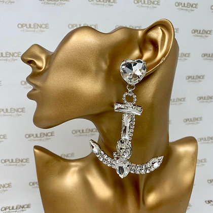 Anchor Statement Earrings