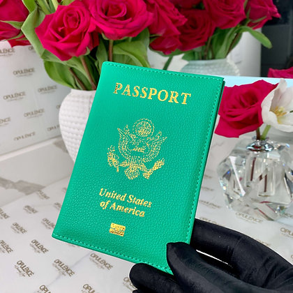 Passport Cover (Green)