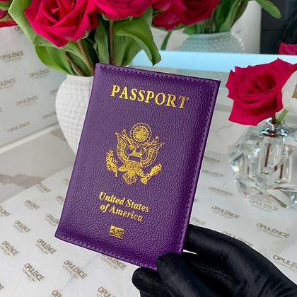 Passport Cover  (Purple)