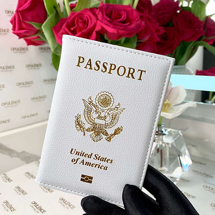 Passport Cover (White)