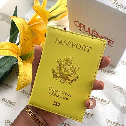 Passport Cover (Yellow)