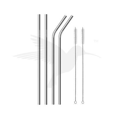 Metal Travel Straw Set of 4