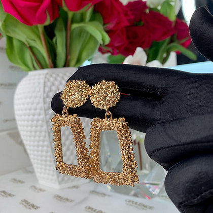 Caicos Dangle Earrings (Gold)