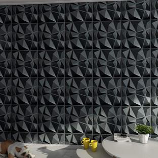 Black 3D Wall Tiles