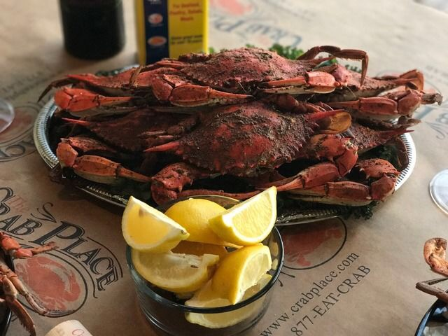 CRab Place crab feast