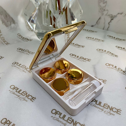 Deluxe Contact Compact (Gold)