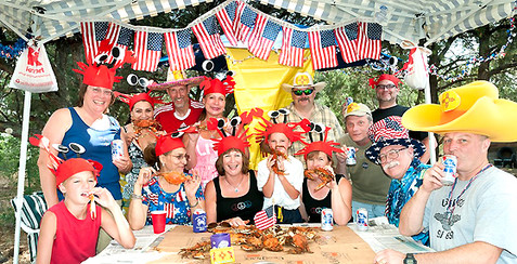 INDEPENDANCE DAY Crab Feast