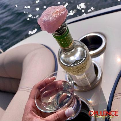 Rose Quartz Wine Bottle Stopper