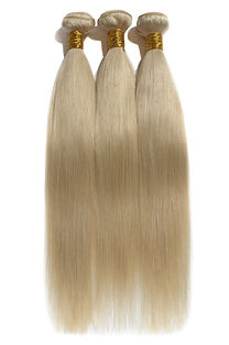 Virgin silky straight blonde Human hair