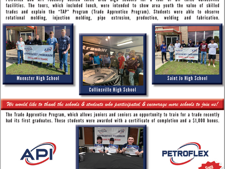 Petroflex open's the doors of opportunity to local youth