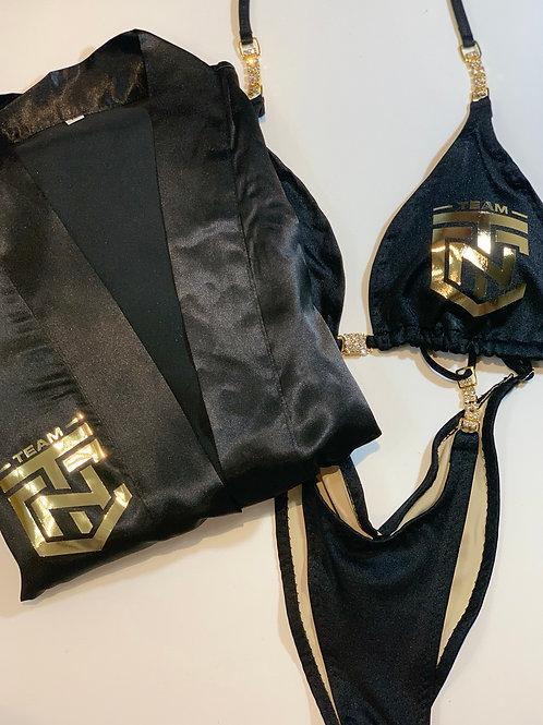 Team CTN Bikini Robe & Posing Suit Combo - Triangle Top