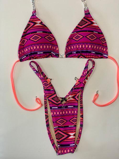 Pink Aztec Figure/WPF Posing Suit