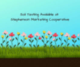 Soil Testing Available at Stephenson Mar