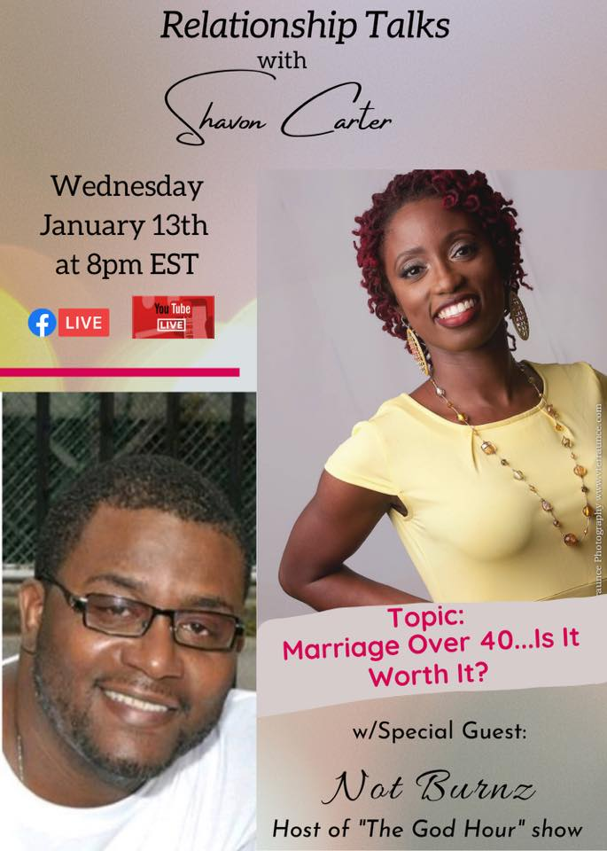 marriage over 40 flyer