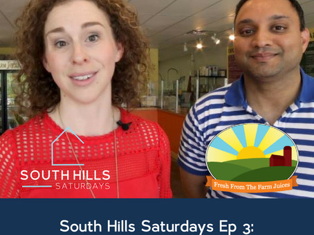 South Hills Saturdays Ep 3:  Fresh From the Farm Juices!