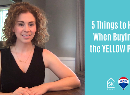 5 Things to Know When Buying in the YELLOW Phase