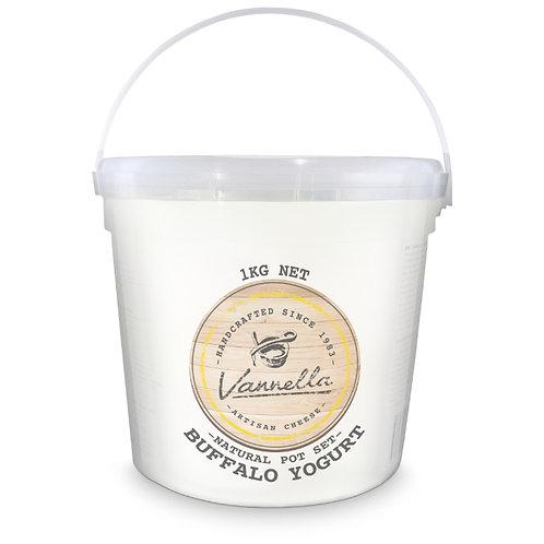 Buffalo Pot Set Yogurt - Naturally Fermented - 1kg
