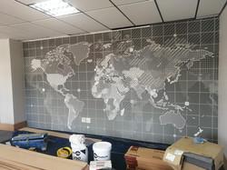 custom world map