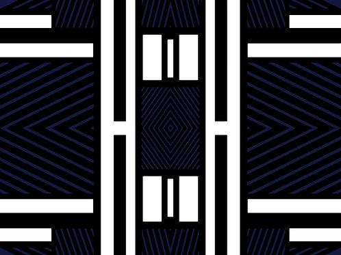 TRIBAL VIBE | Royal Blue