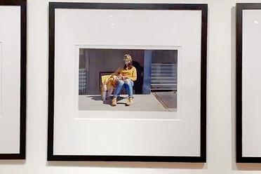 "Praxis Photo Center photography exhibit ""Narratives"" photo by Marj Kleinman"