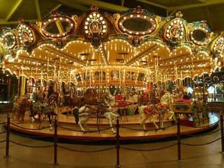 Historic Carousel at Castle Amusement Park in Riverside gets repairs