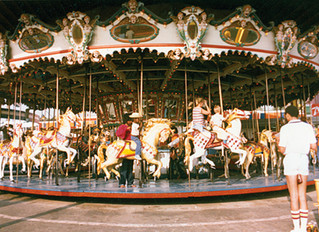 Western Train Co. makes progress on Antique Carousel Restorations