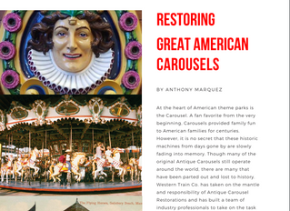 Western Train Co. Carousel Restorations